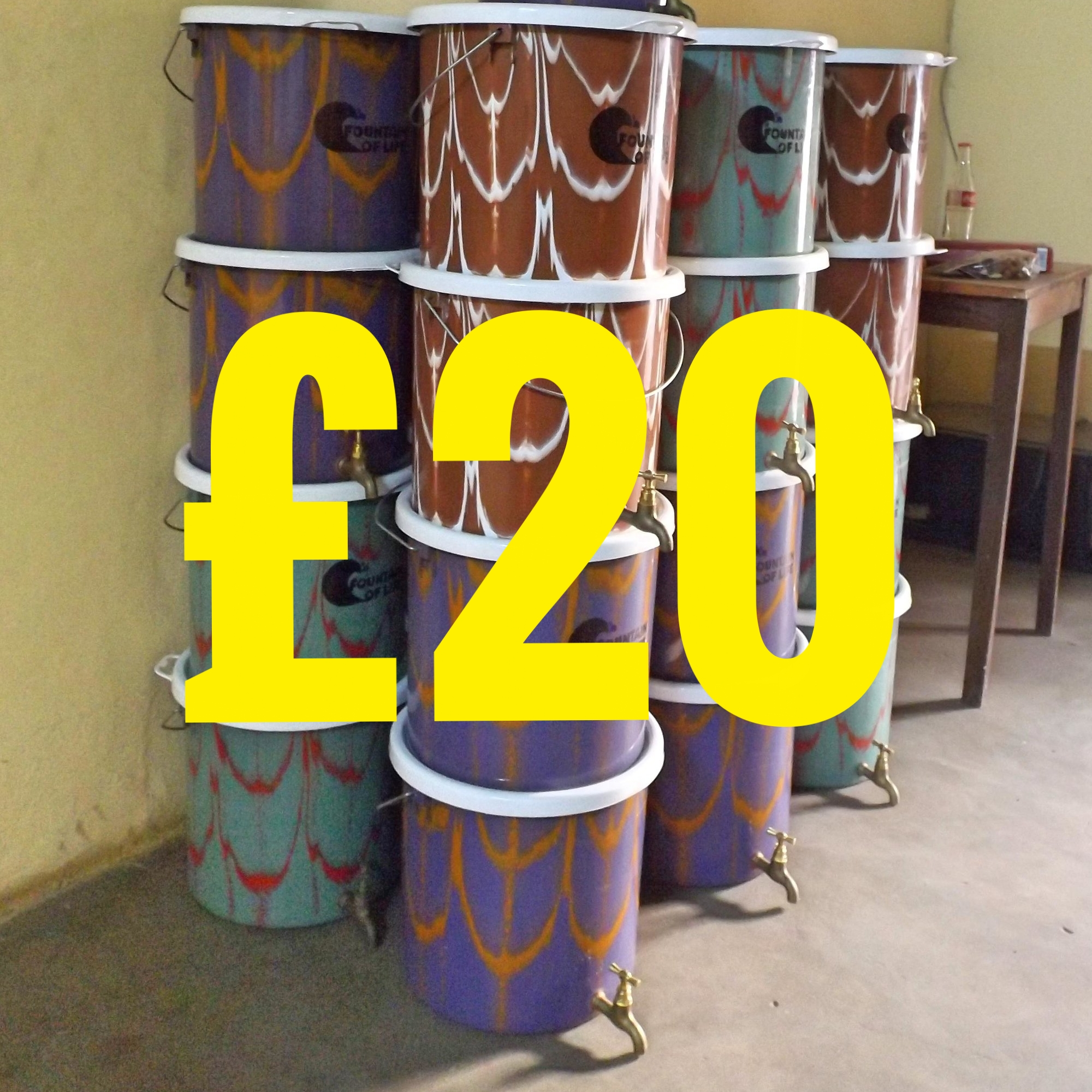 Contaminated drinking-water is estimated to cause 502,000 diarrheal deaths each year. A gift of £20 will provide a household with a ceramic candle filter. Not only will this provide the users with safe water, it also acts as storage and prevents further contamination after filtration.