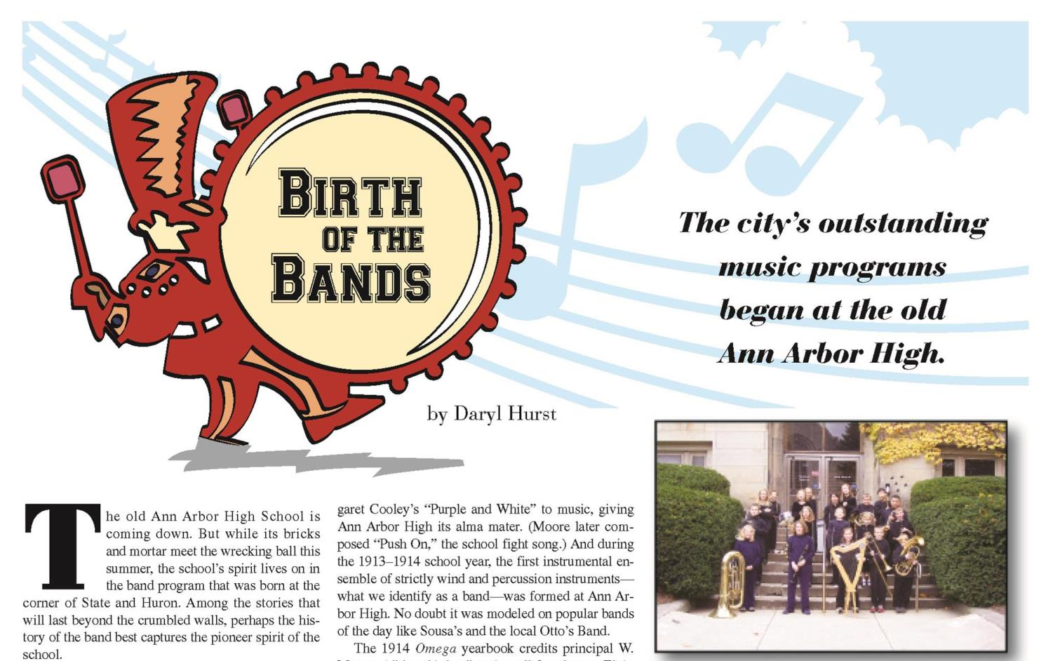 Birth of the Bands  from the  June 2006  issue.