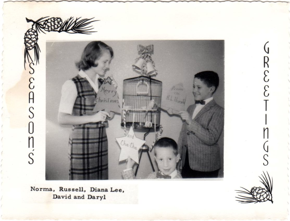 Russell Hurst Family Christmas Card 1960.jpg