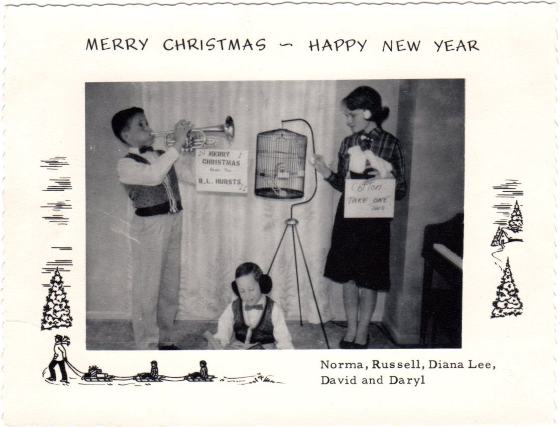 Russell Hurst Family Christmas Card 1961.jpg