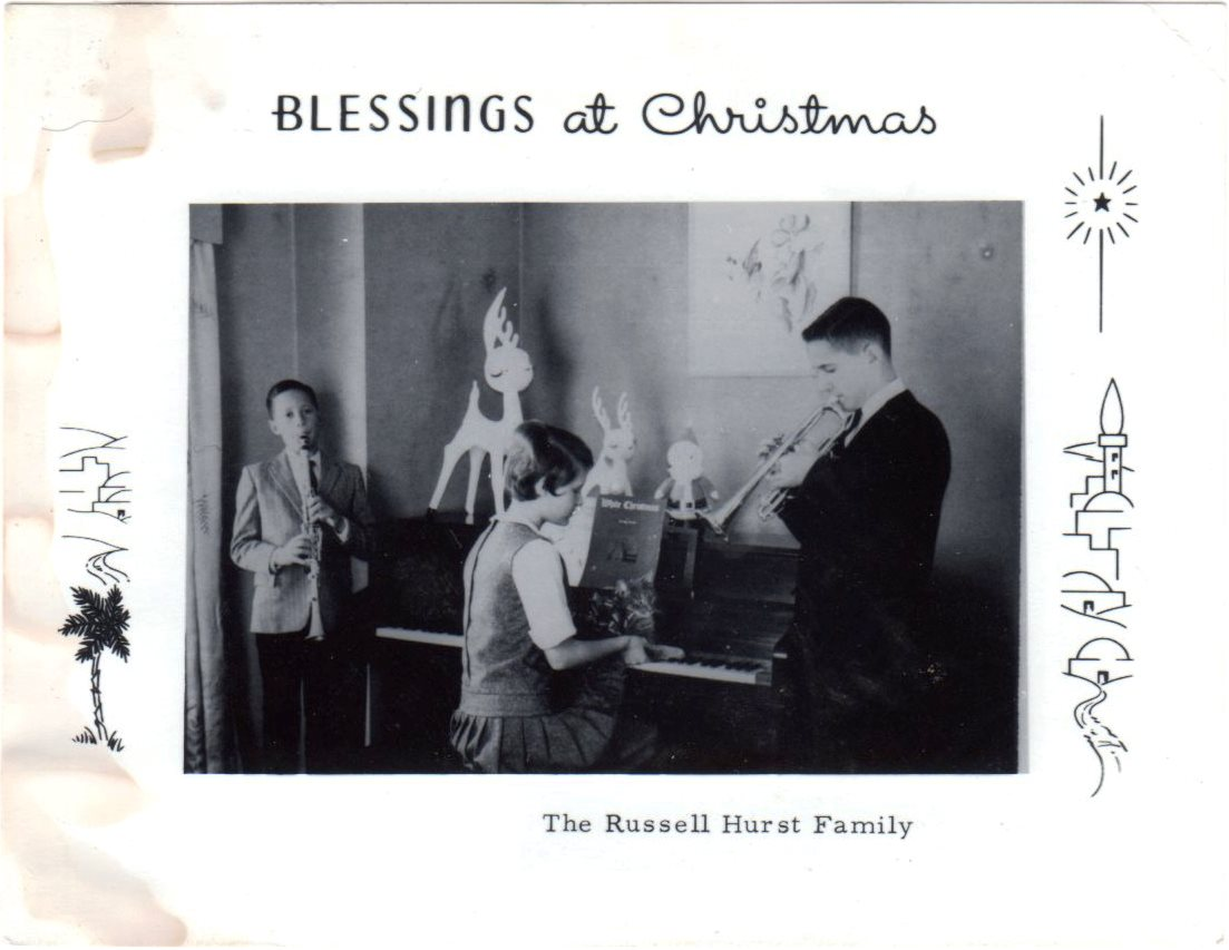 Russell Hurst Family Christmas Card 1964.jpg