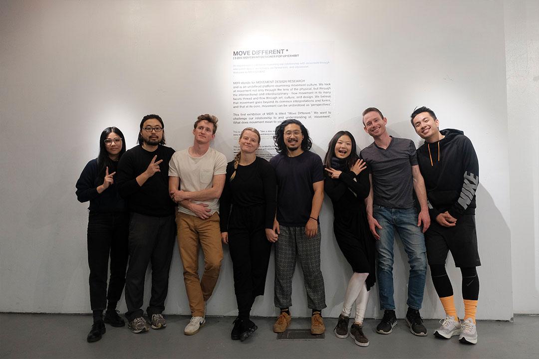 All MDR popup members and exhibitors - Admix Collective / Qiu Yi Wu / Stephen Duke / Andrew Kung / Vanessa Granda / Jannai Jones / Slate Werner / Kyle Mosholder