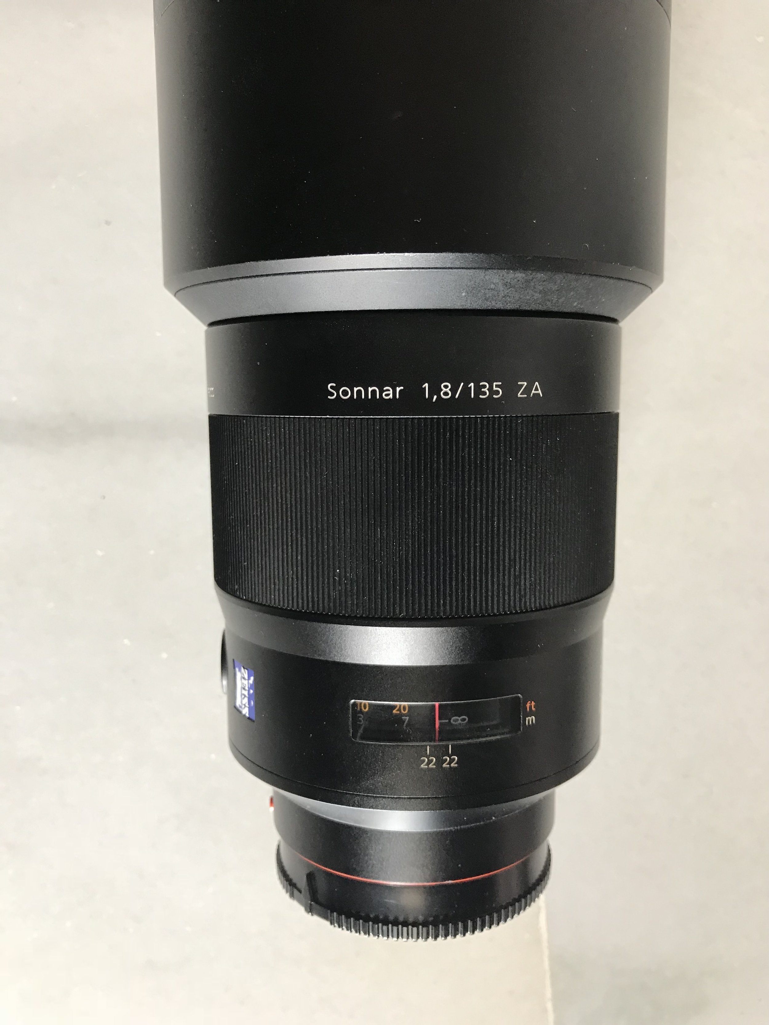 Zeiss 135 F1.8 - Sony mont A . Perfecto €.980