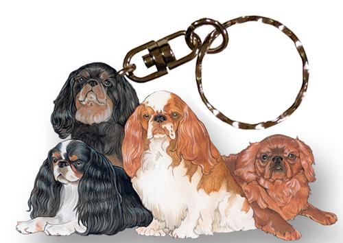 King Charles Spaniel Keyring Gift//Present Dog Cavalier