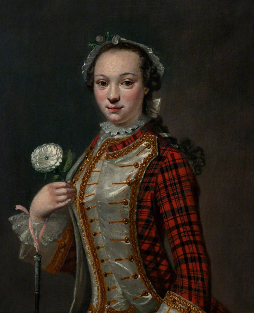 Portrait of a Jacobite Lady, Cosmo Alexander, The National Trust for Scotland,