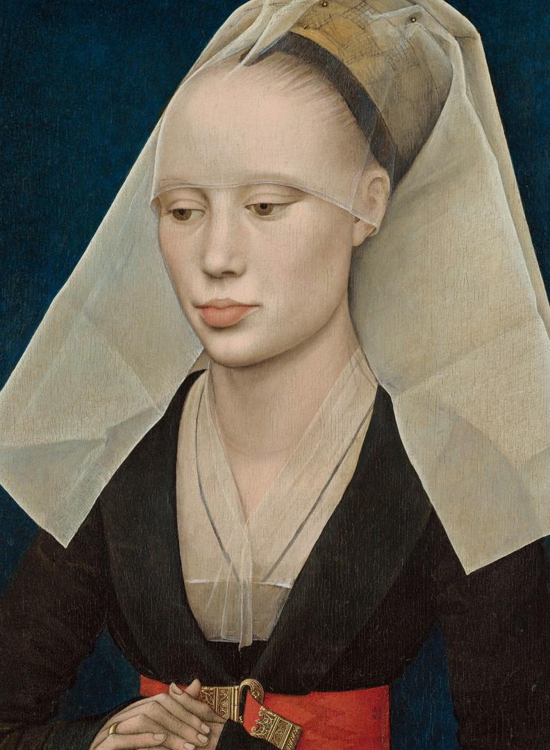 Rogier can der Weyden, Portrait of a Lady, ca 1460.jpg