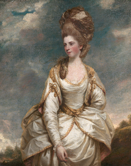 Sarah Campbell by Sir Joshua Reynolds