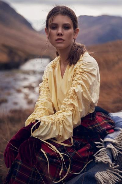 The Wild featuring tartan skirt by Lorna Gillies