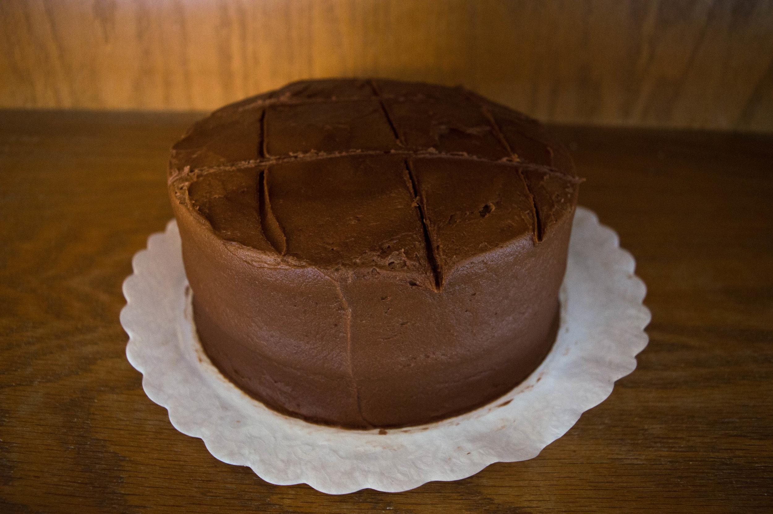 Chocolate Iced Cake