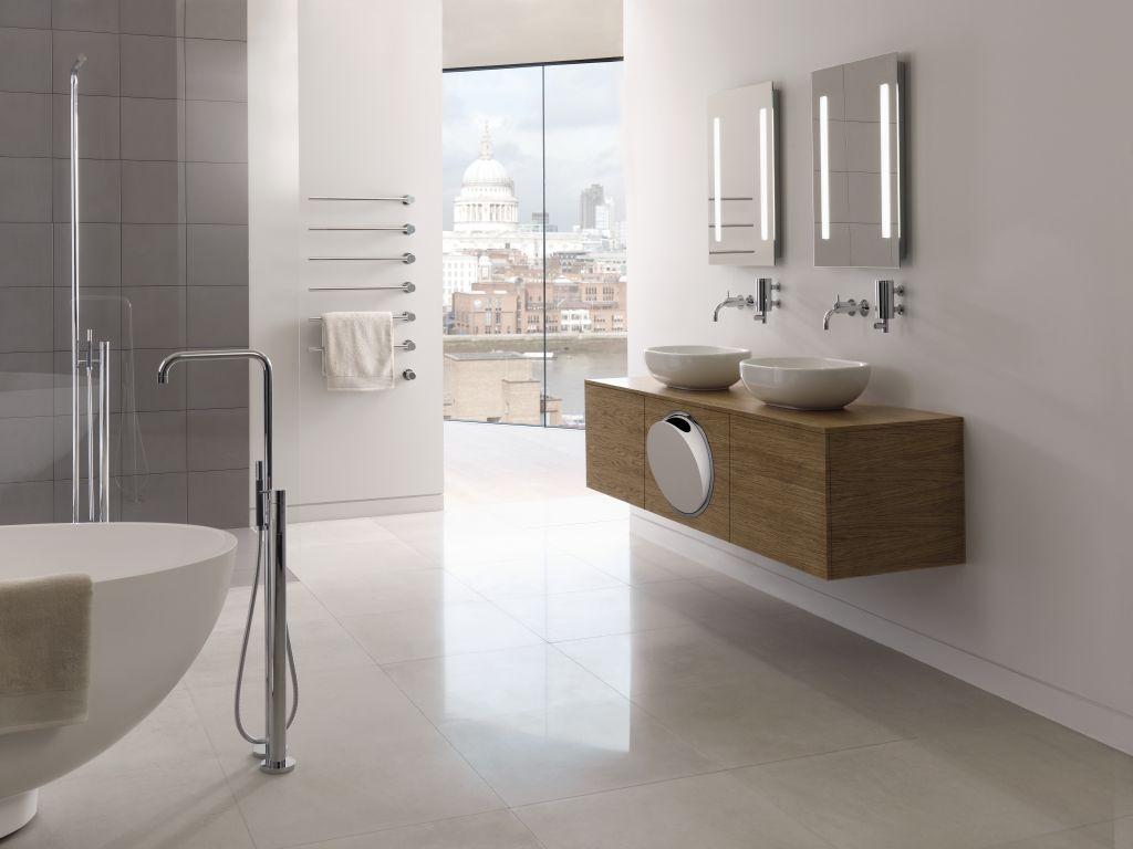 Badkamerrenovatie - Werk je reeds samen met een architect of interieurarchitect? Dan zijn wij de geschikte partner voor het installeren van je nieuwe badkamer.Ook een totaalrenovatie van A-Z coördineren wij met veel plezier. We werken vlot samen met gerenommeerde vakmensen. Onze garantie voor een prachtig resultaat binnen de voorop gestelde tijd.