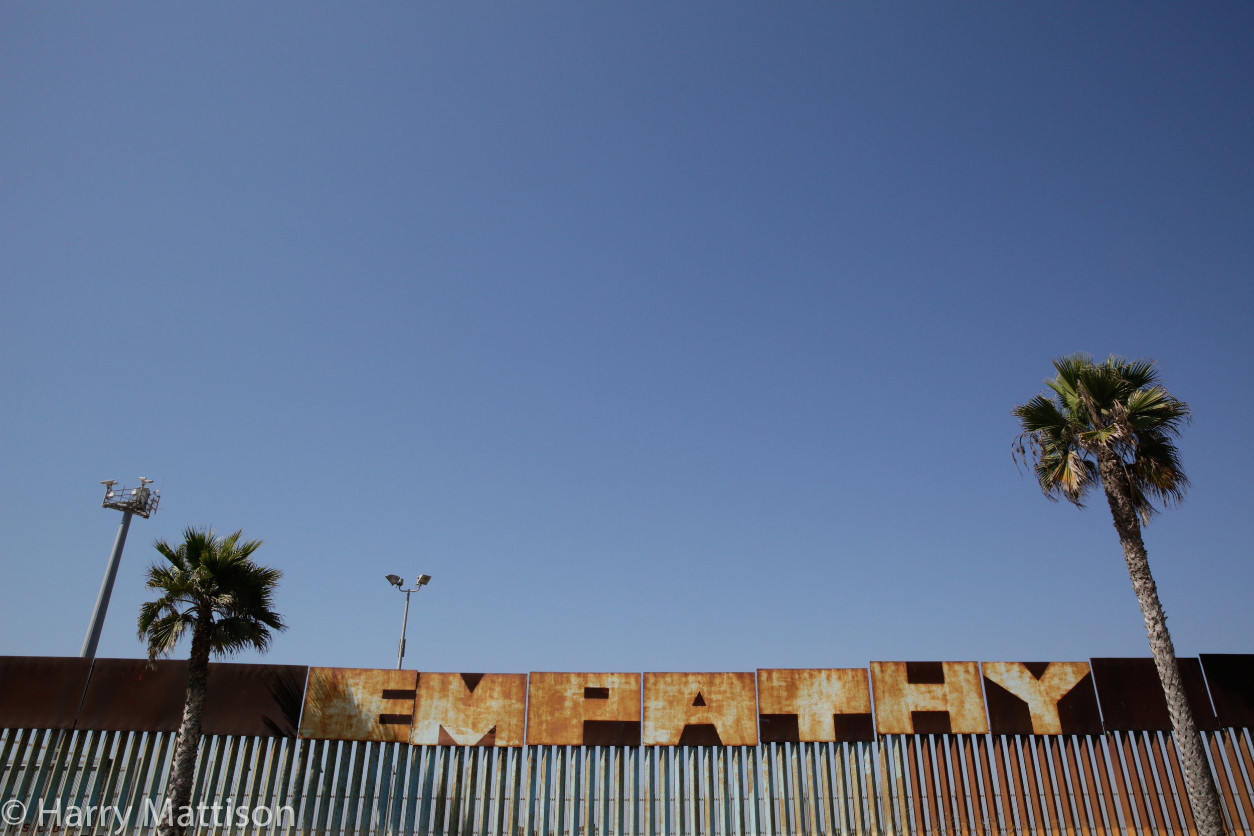 Mexican side of the fence, Tijuana.