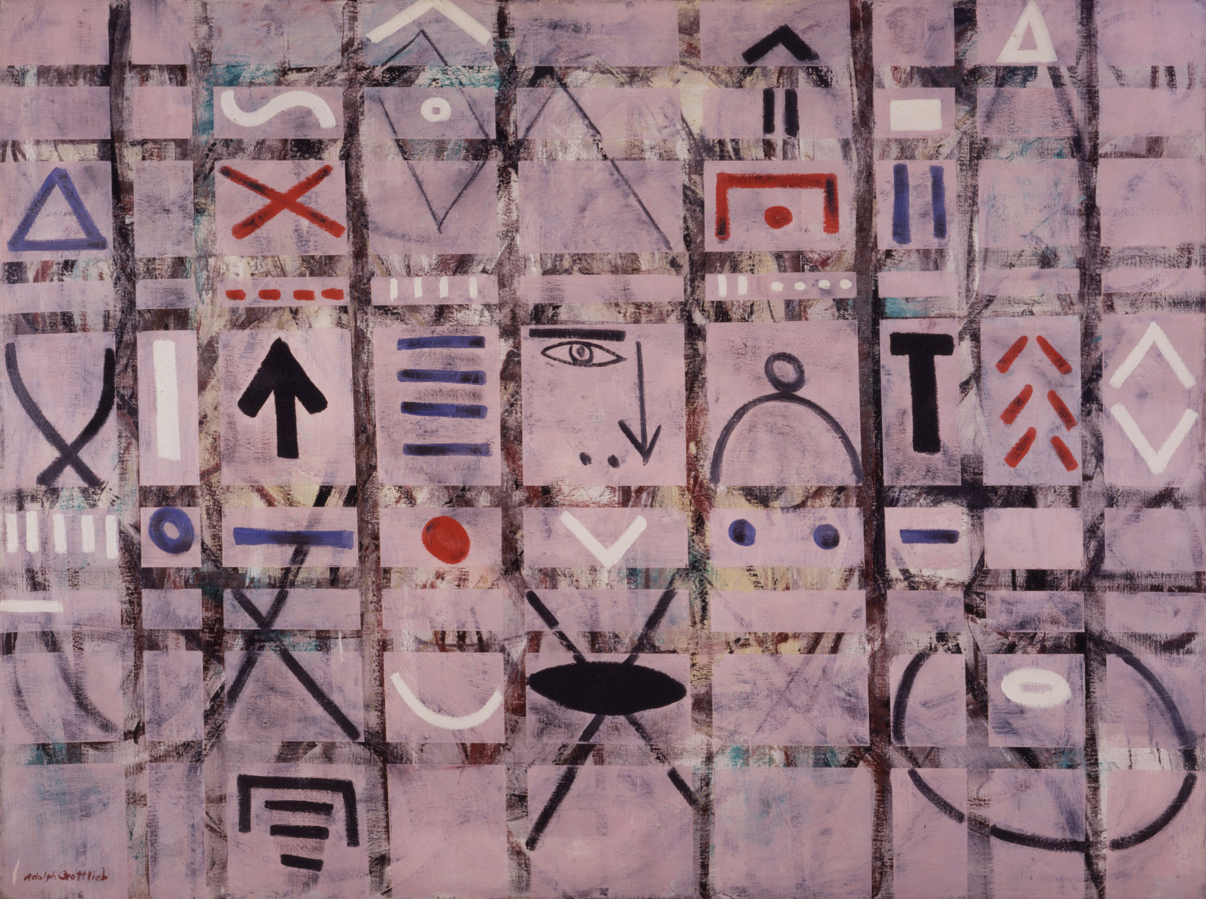 Adolph Gottlieb,  Labyrinth #1 , 1950, courtesy of Adolph and Esther Gottlieb Foundation, New York