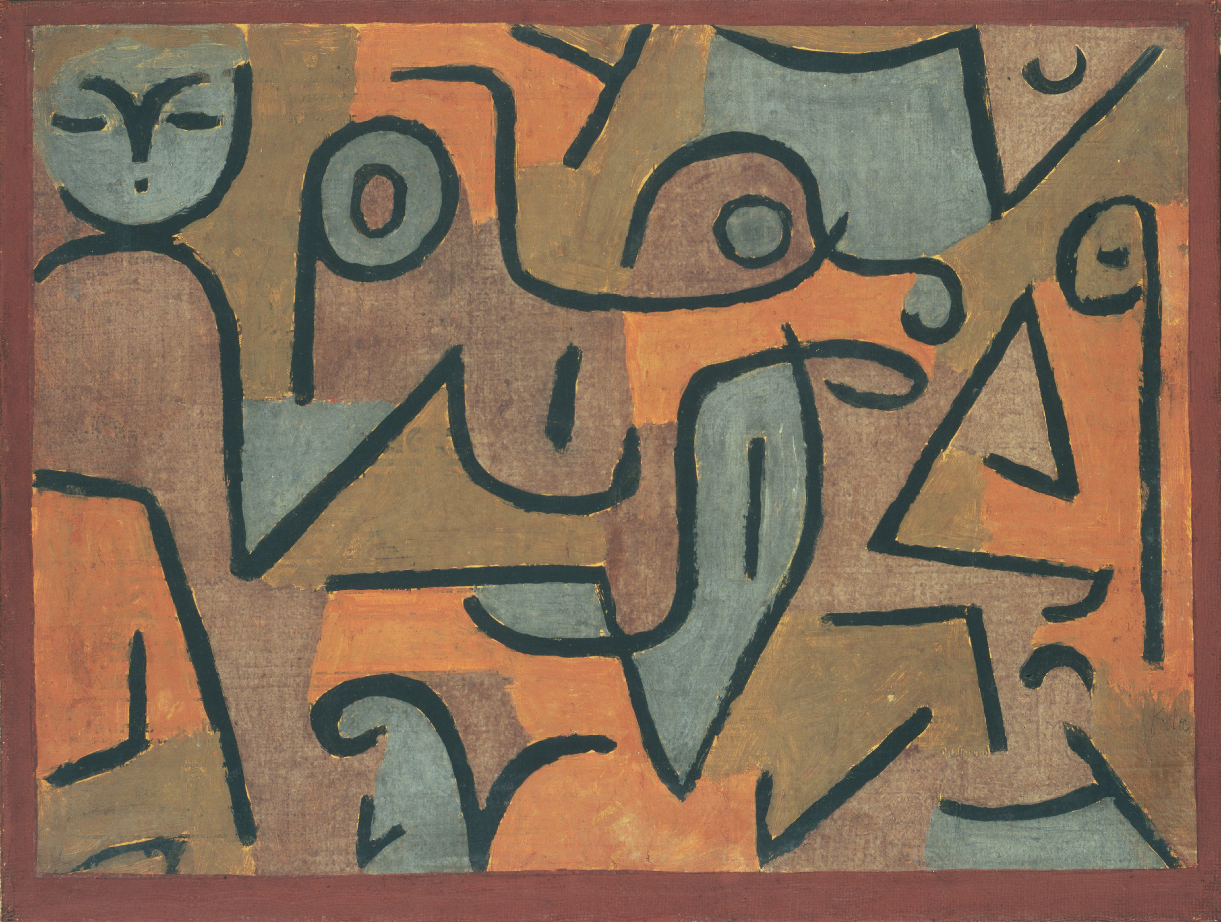 Paul Klee,  Young Moe , 1938. The Phillips Collection, Washington, DC.