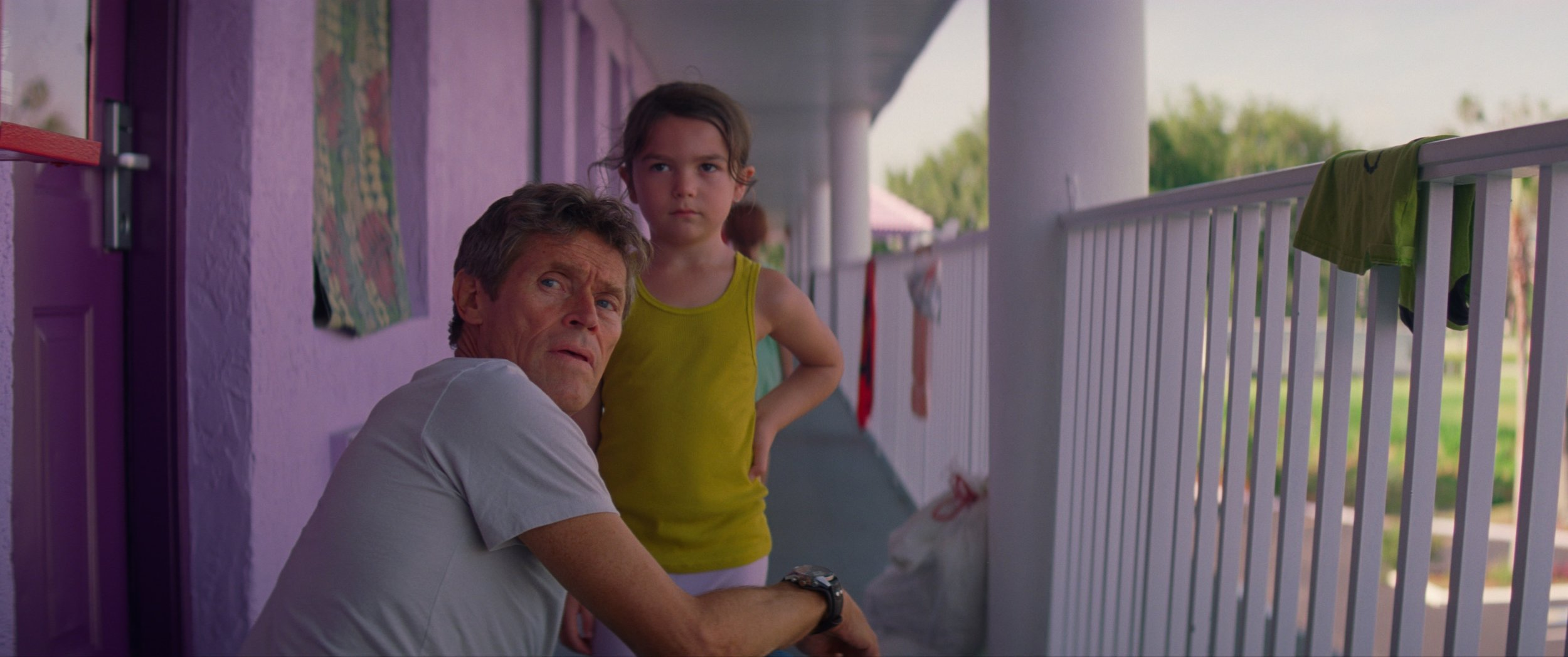 Still from  The Florida Project .
