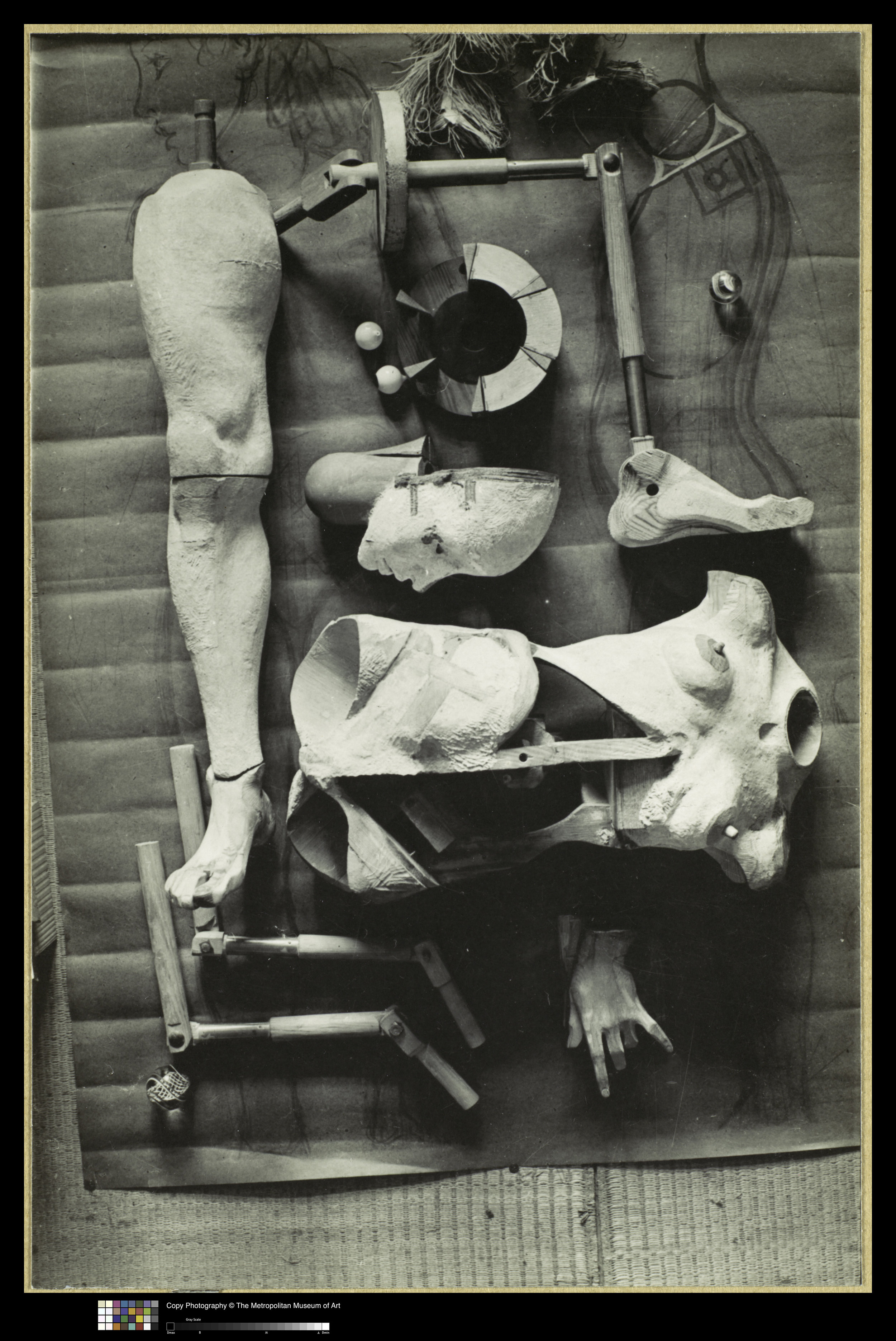 Hans Bellmer,  The Doll (La Poupée) , 1934-35. Gelatin Silver Print, 11 5/8 x 7 5/8 in. Courtesy of The Met. © 2019 Artists Rights Society (ARS), New York / ADAGP, Paris