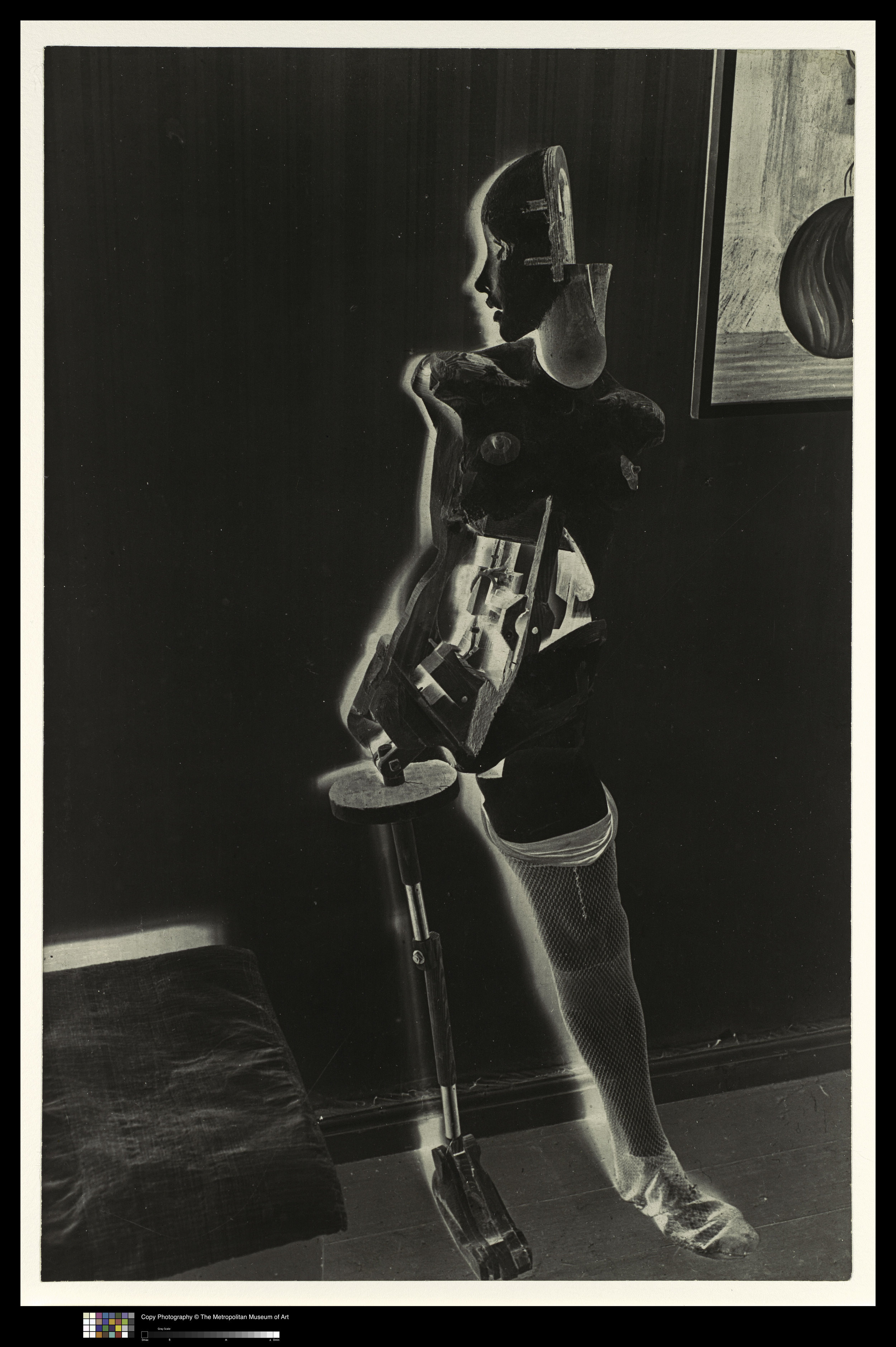 Hans Bellmer,  The Doll  ( La Poupée ), 1934-35. Gelatin Silver Print, 11 5/8 x 7 5/8 in. Courtesy of The Met. © 2019 Artists Rights Society (ARS), New York / ADAGP, Paris.