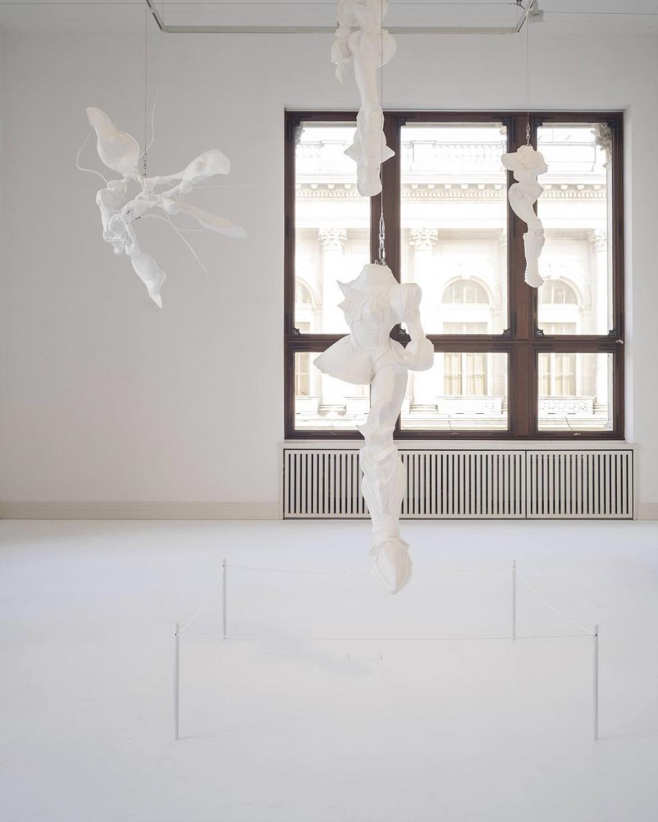 Lee Bul,  Cyborgs , 1997-2011. Exhibition view: Martin-Gropius-Bau, Berlin. Photograph by Mathias Völzke.