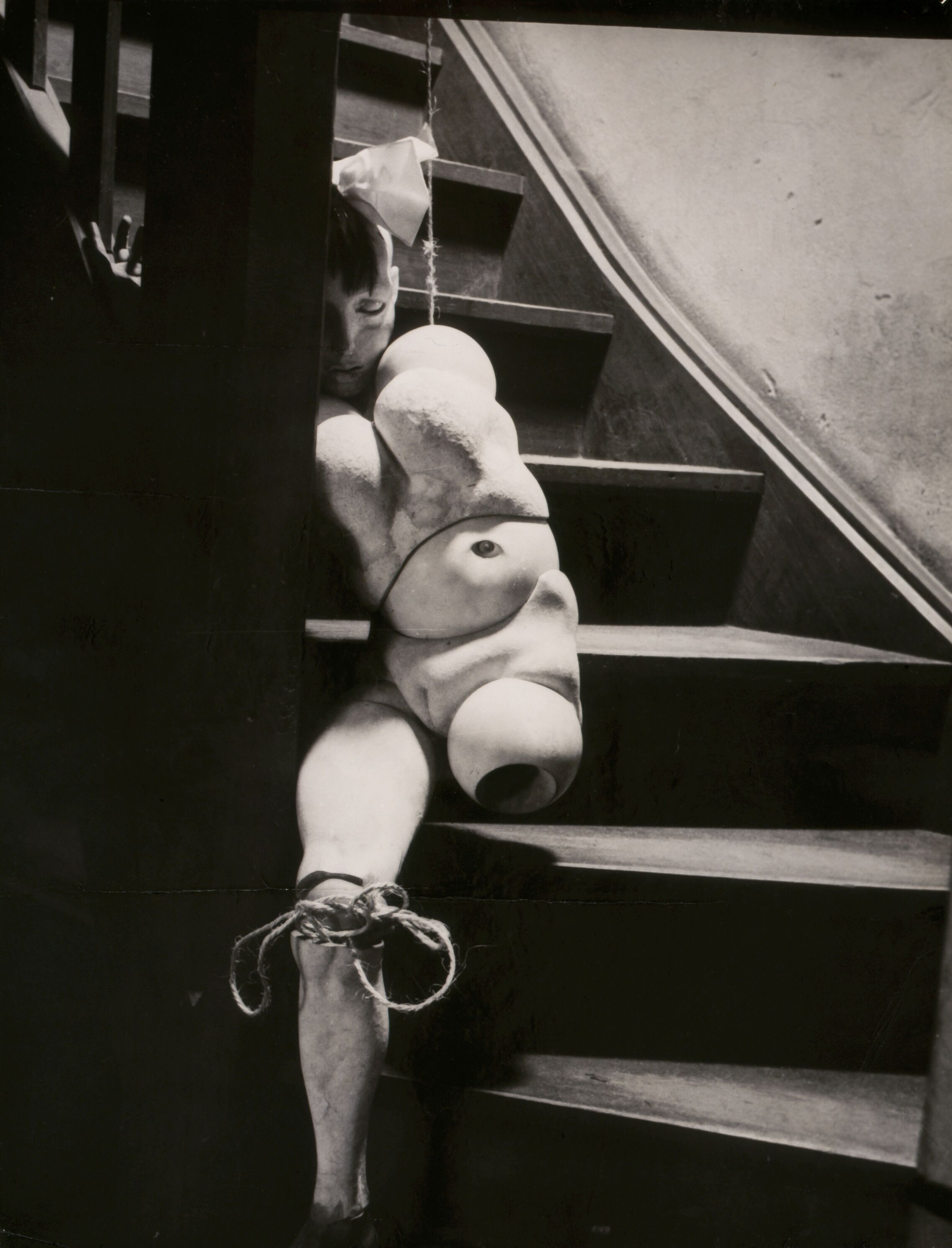 Hans Bellmer,  The Doll (La Poupée) , 1935. Gelatin silver print 18 7/8 × 14 3/8 in. Courtesy of the Menil Collection. © 2019 Artists Rights Society (ARS), New York / ADAGP, Paris.