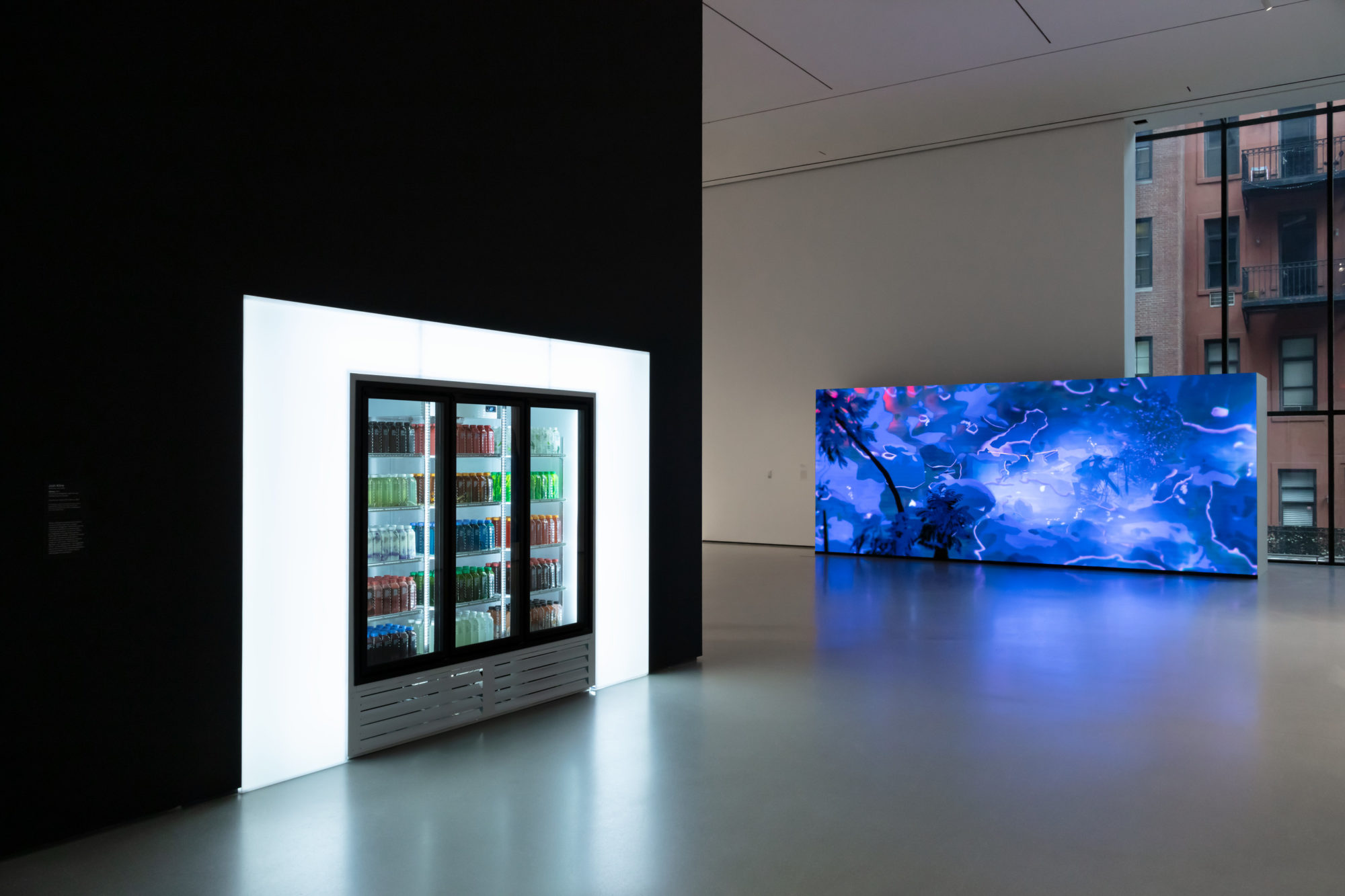 Installation view,  New Order: Art and Technology in the Twenty-First Century  at The Museum of Modern Art, New York (March 17 – June 15, 2019). Digital image © 2019 The Museum of Modern Art, New York. Photo: Jonathan Muzikar.