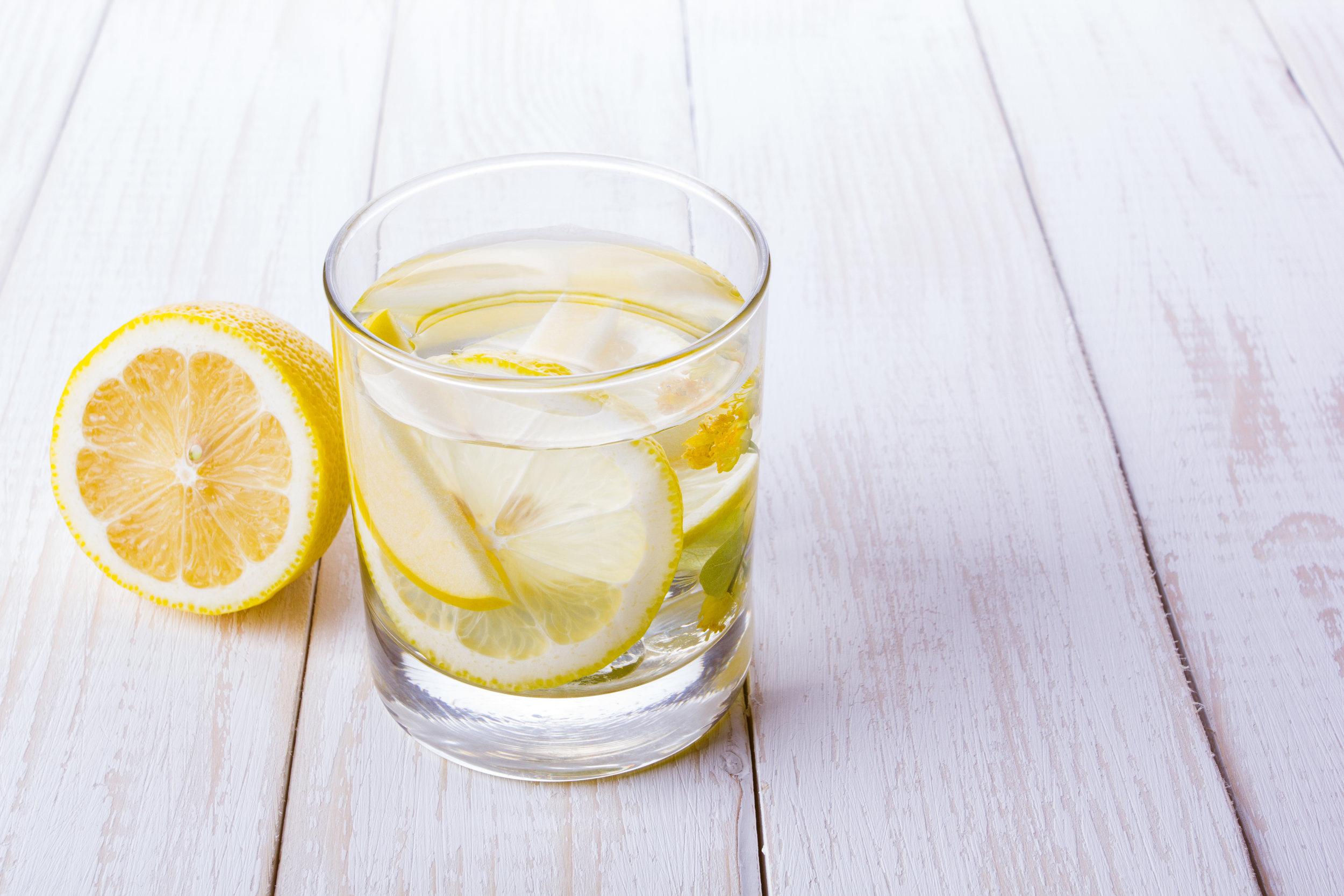 Lemon Water in morning routine