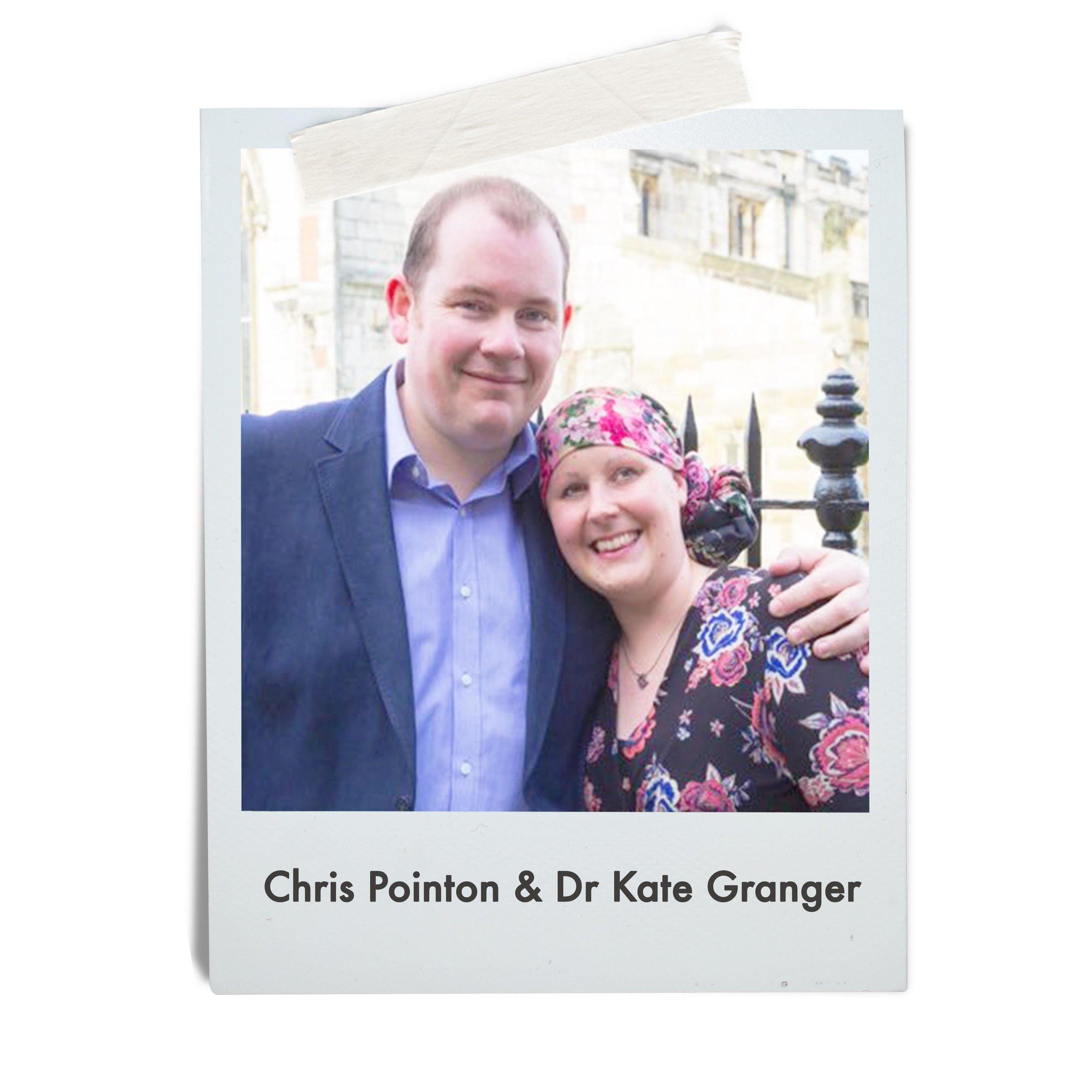 Chris Pointon & Dr Kate Granger