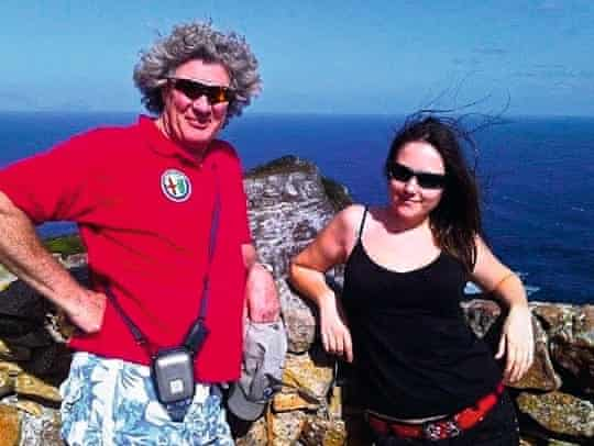 Erica Buist and her father-in-law, who was found dead at his home after having a heart attack