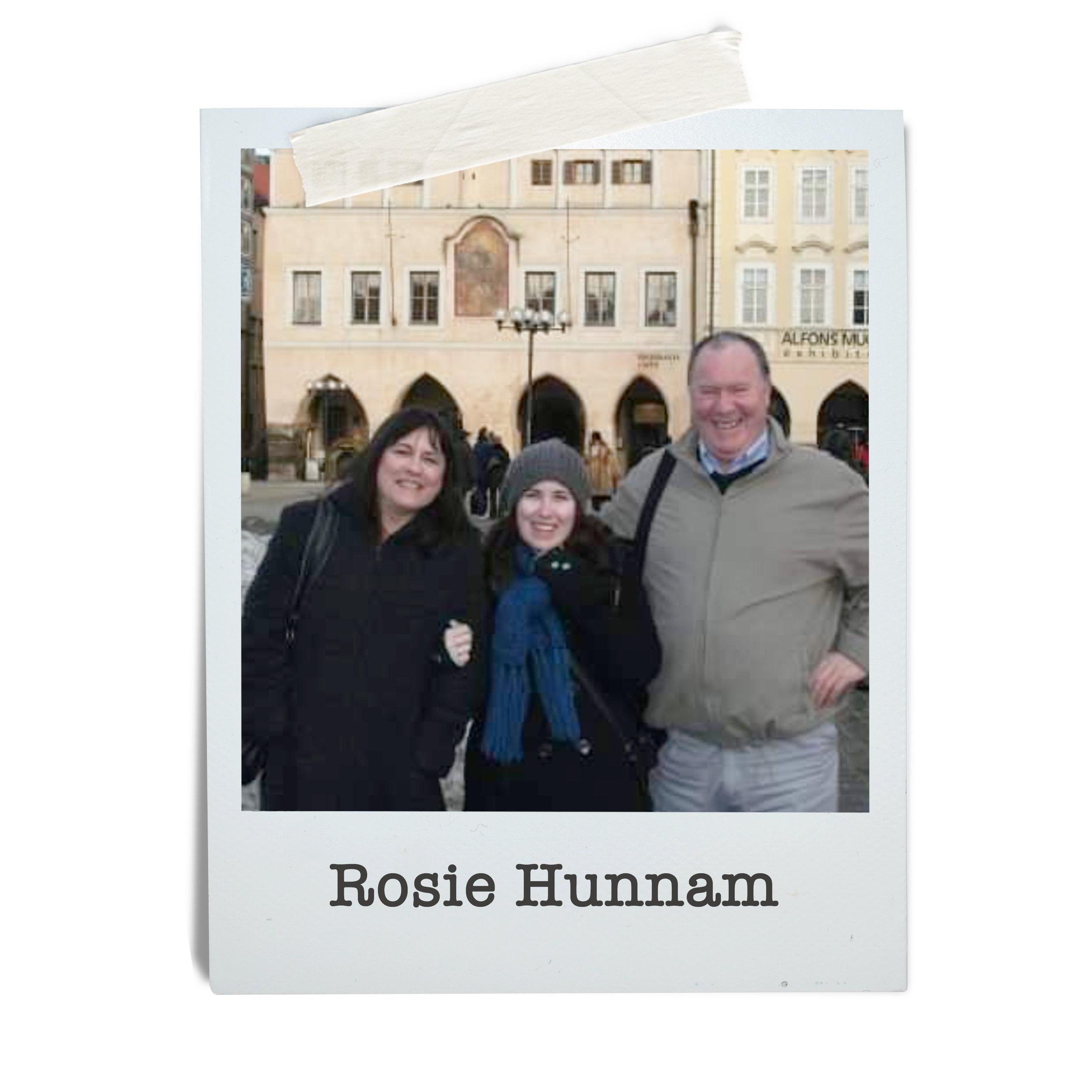 Rosie Hunnam