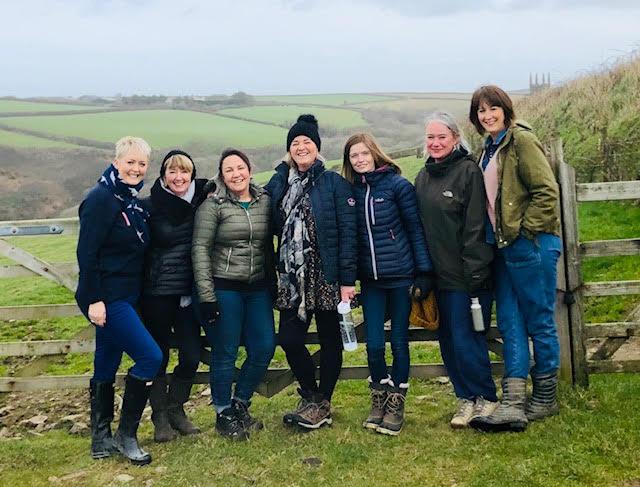 Sheridan Newman and her menopause gang