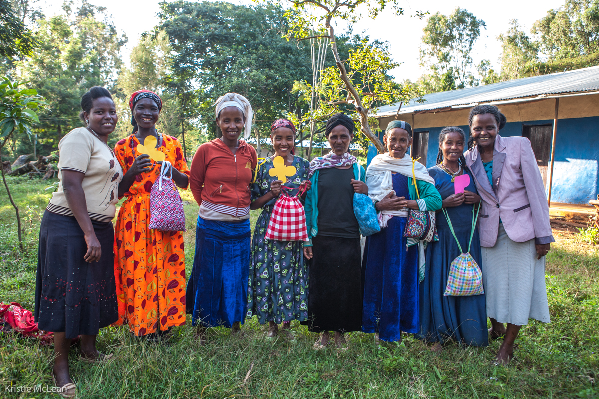 Photograph with kind permission by Kristie McLean.      These beautiful women form a cooperative. Photographer Kristie McLean has lovingly helped support these women for years. Protect Your Sister Project has helped support her efforts in this endeavor.