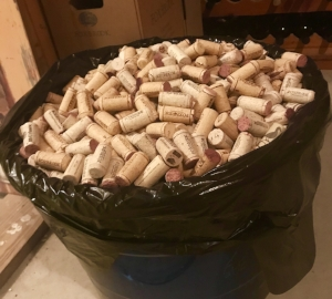 30-gallon tub o' corks. Just part of my stash.
