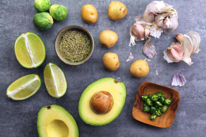 Flavorful ingredients for delicious food