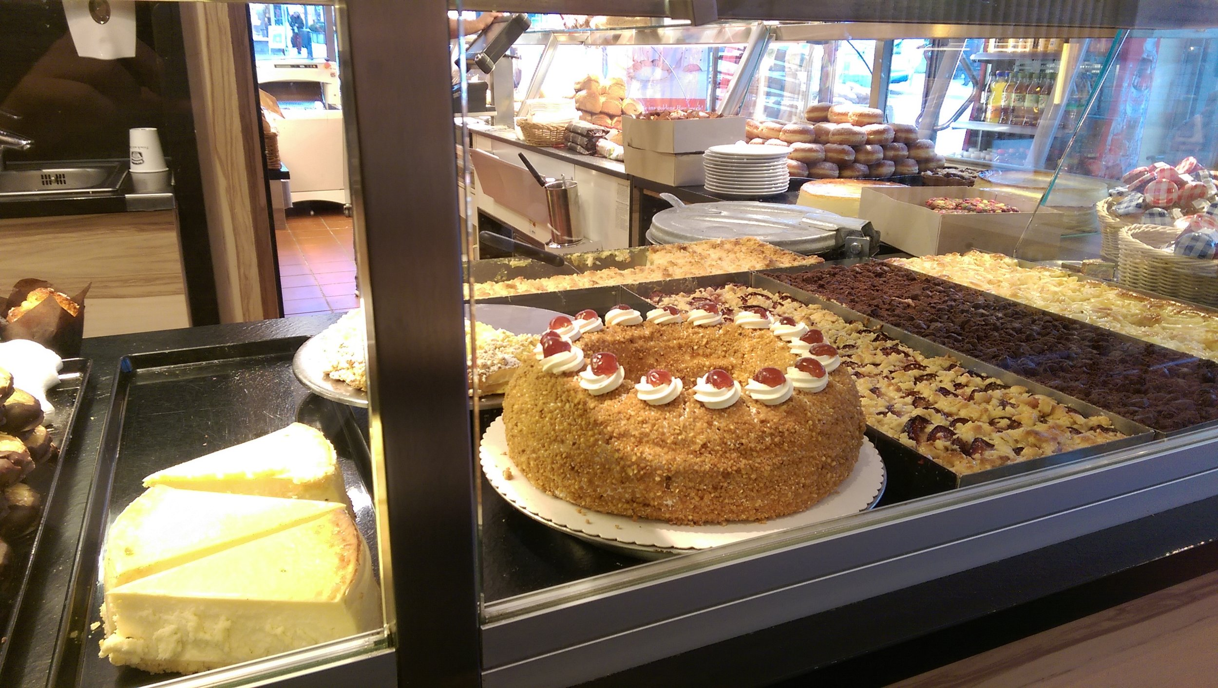 I learned that Germans are big on pastries and desserts