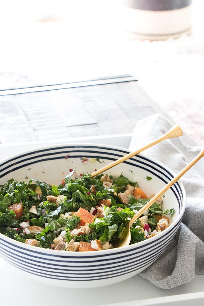 Kale and chicken salad with orange dressing - 2.jpg