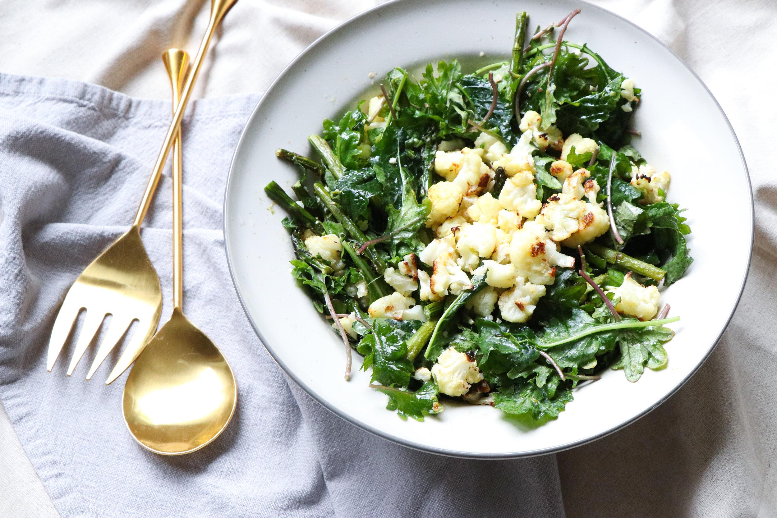 Asparagus, kale, cauliflower salad 2.jpg