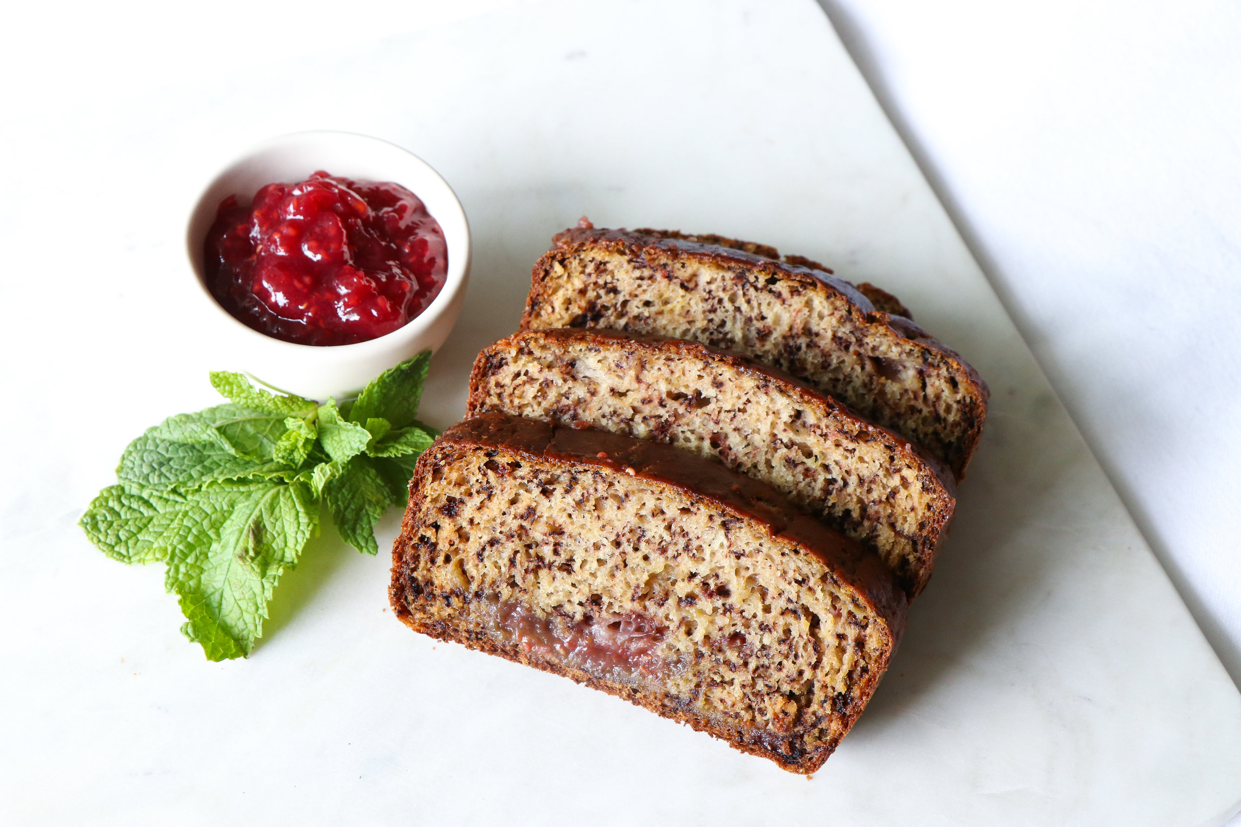 easiest vegan banana bread recipe