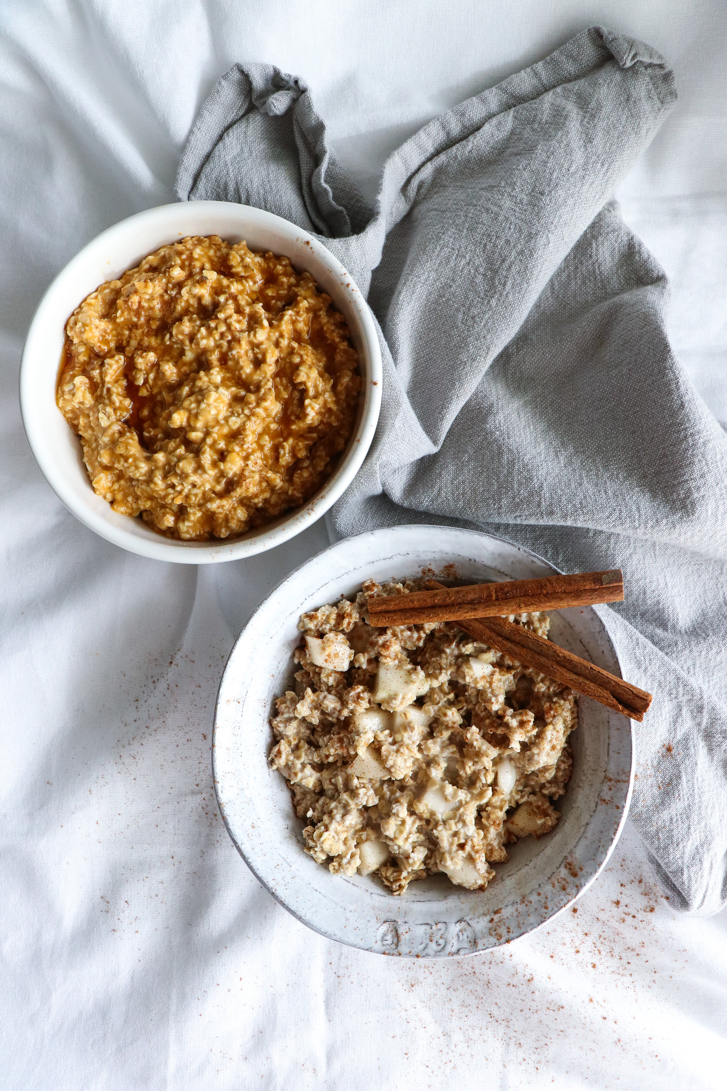 autumn overnight oats recipes