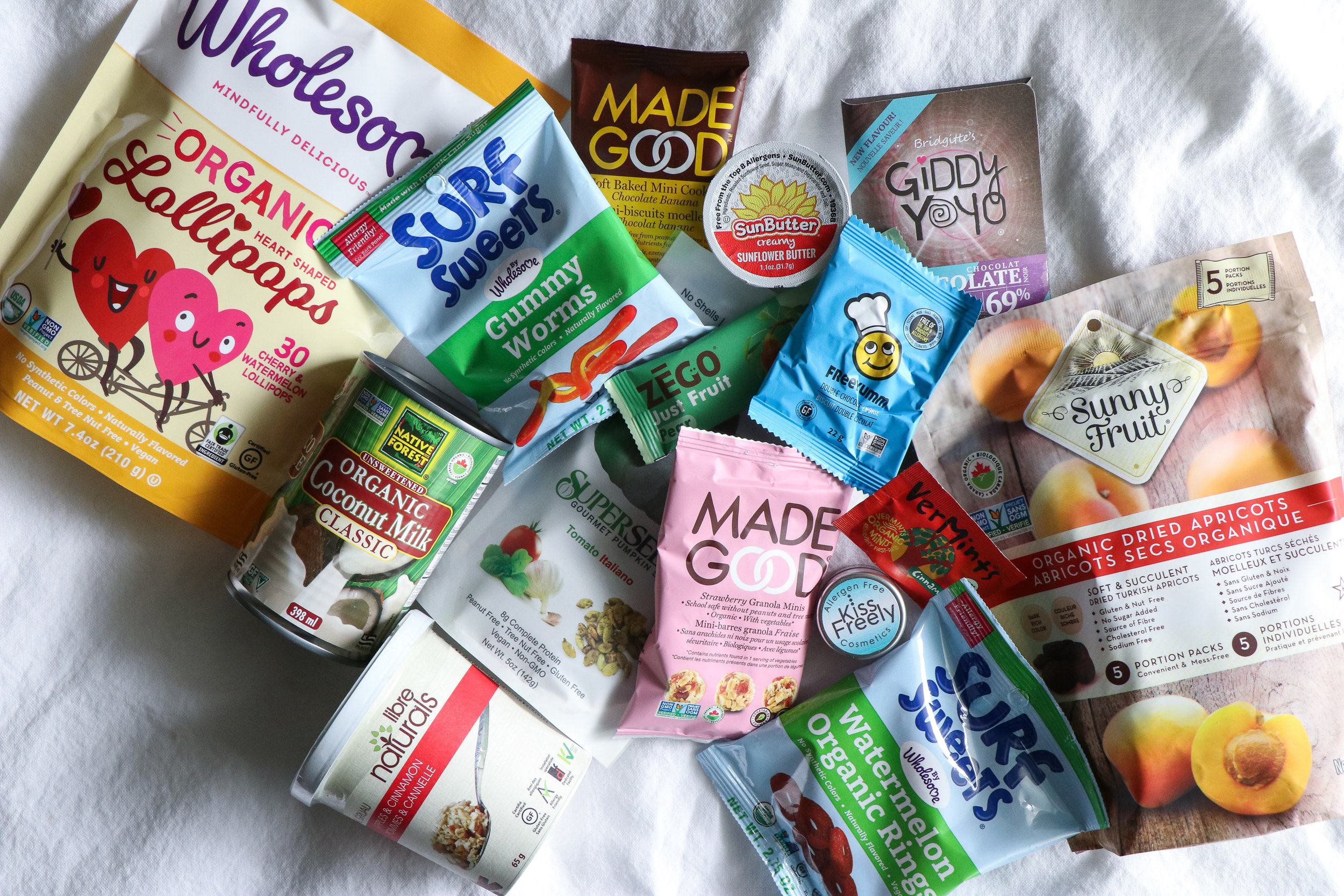over 60 food allergy brands to know