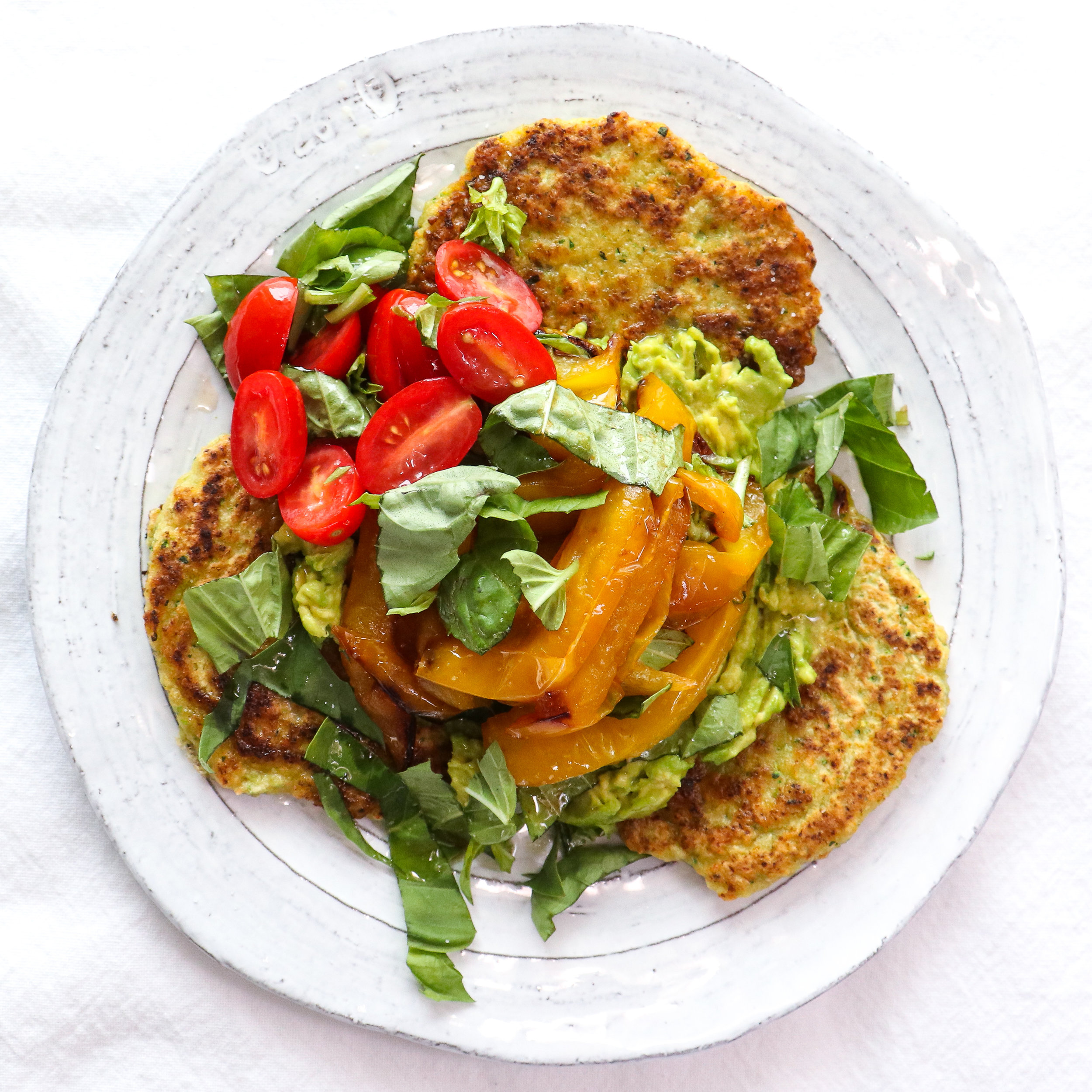 veggie pancakes with avo and roasted peppers.jpg