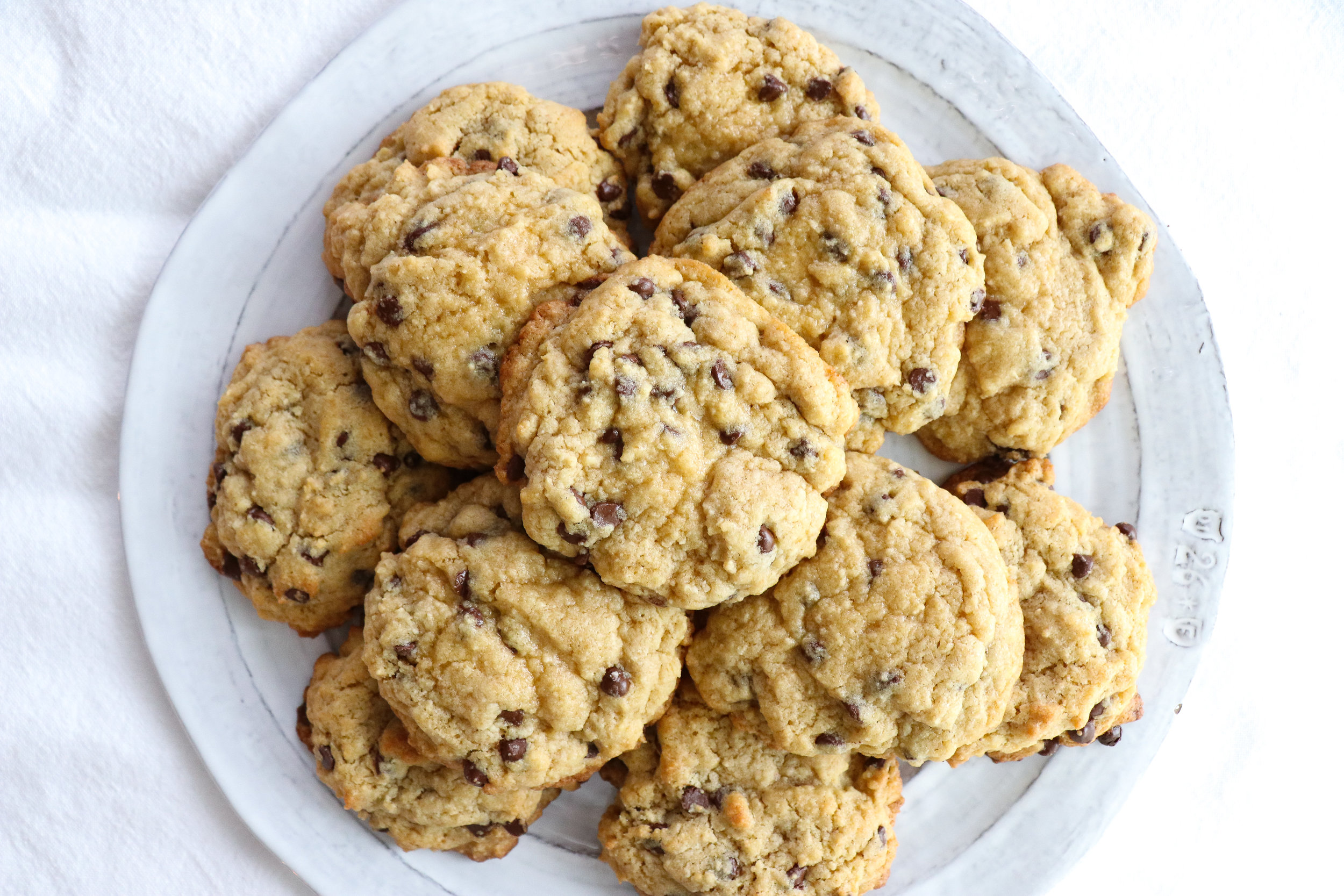 soft and chewy dairy free chocolate chip cookie recipe
