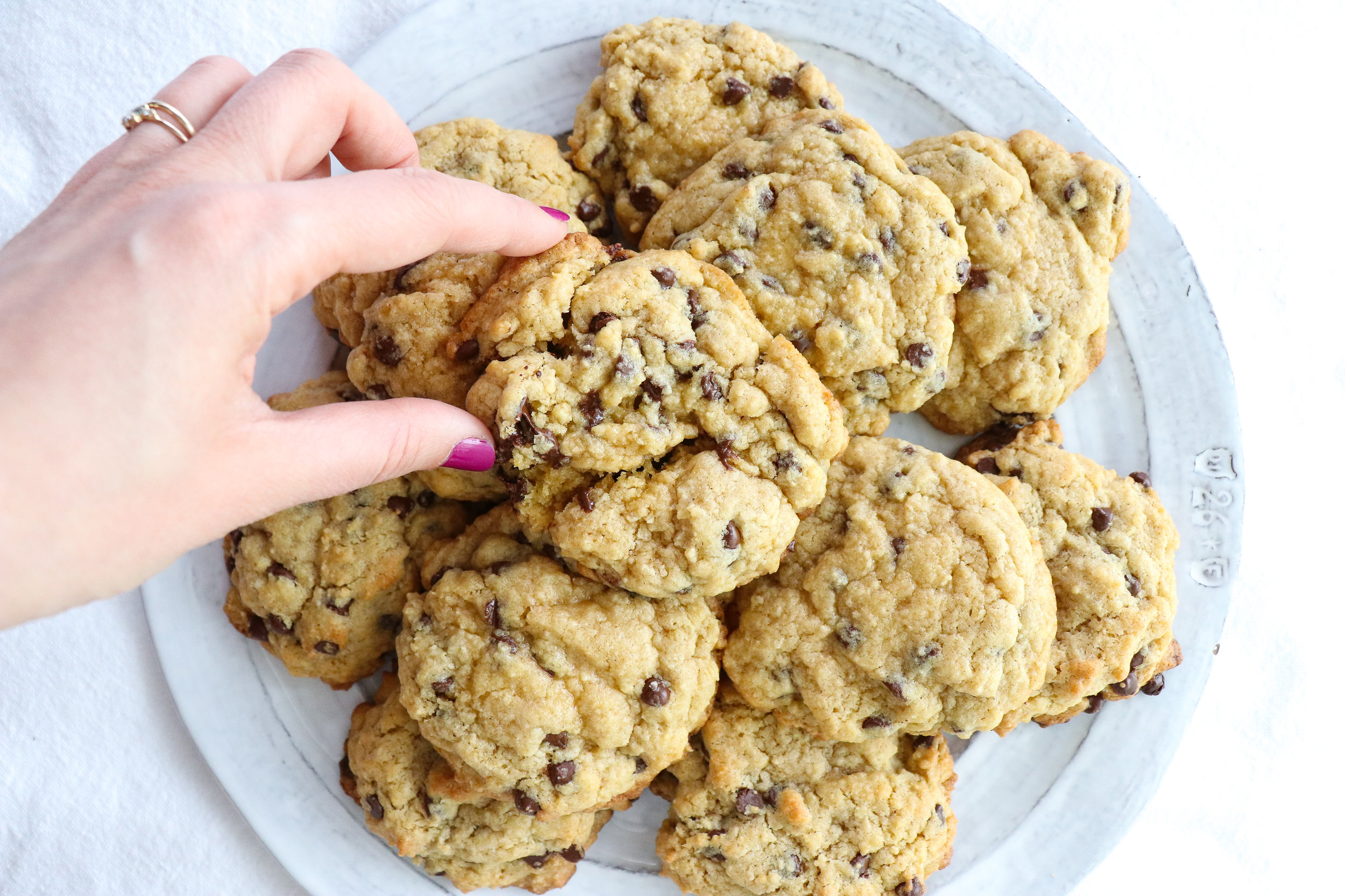 soft and chewy dairy free chocolate chip cookies recipe