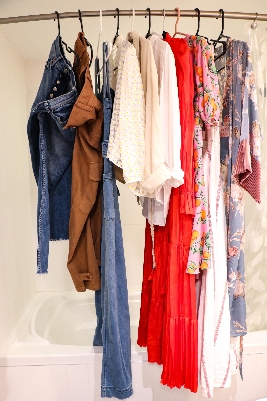 Blogger wardrobe