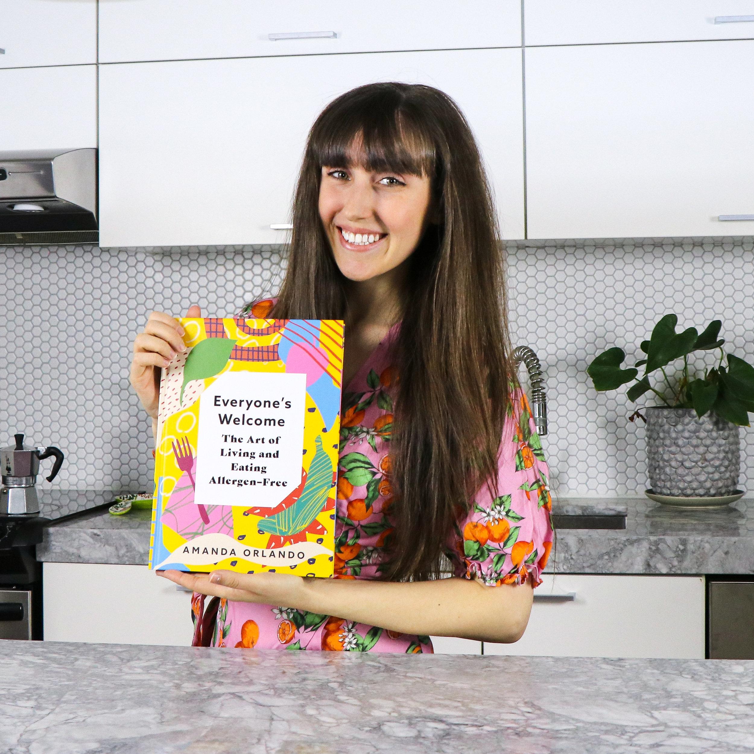 amanda orlando food allergy cookbook lifestyle book
