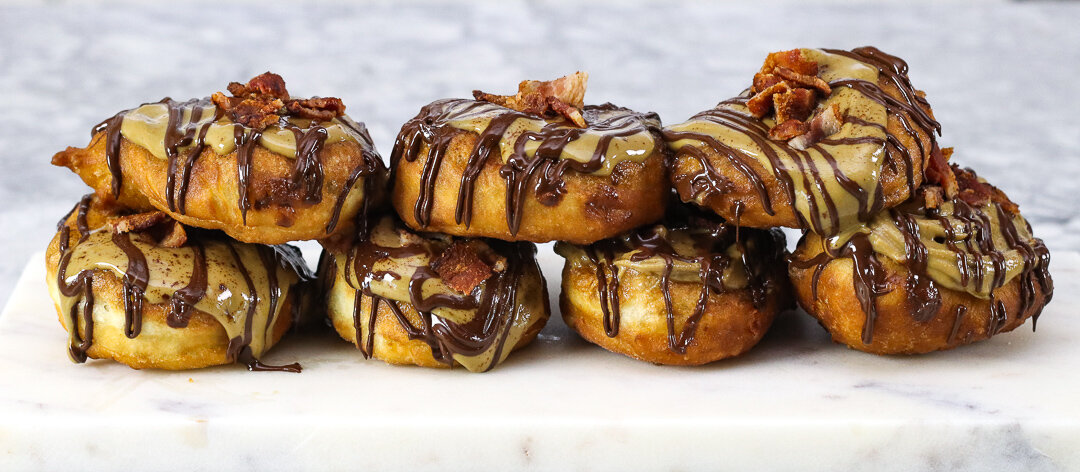 Sunflower Bacon Donuts - Dairy Free, Nut Free, Egg Free, Soy Free