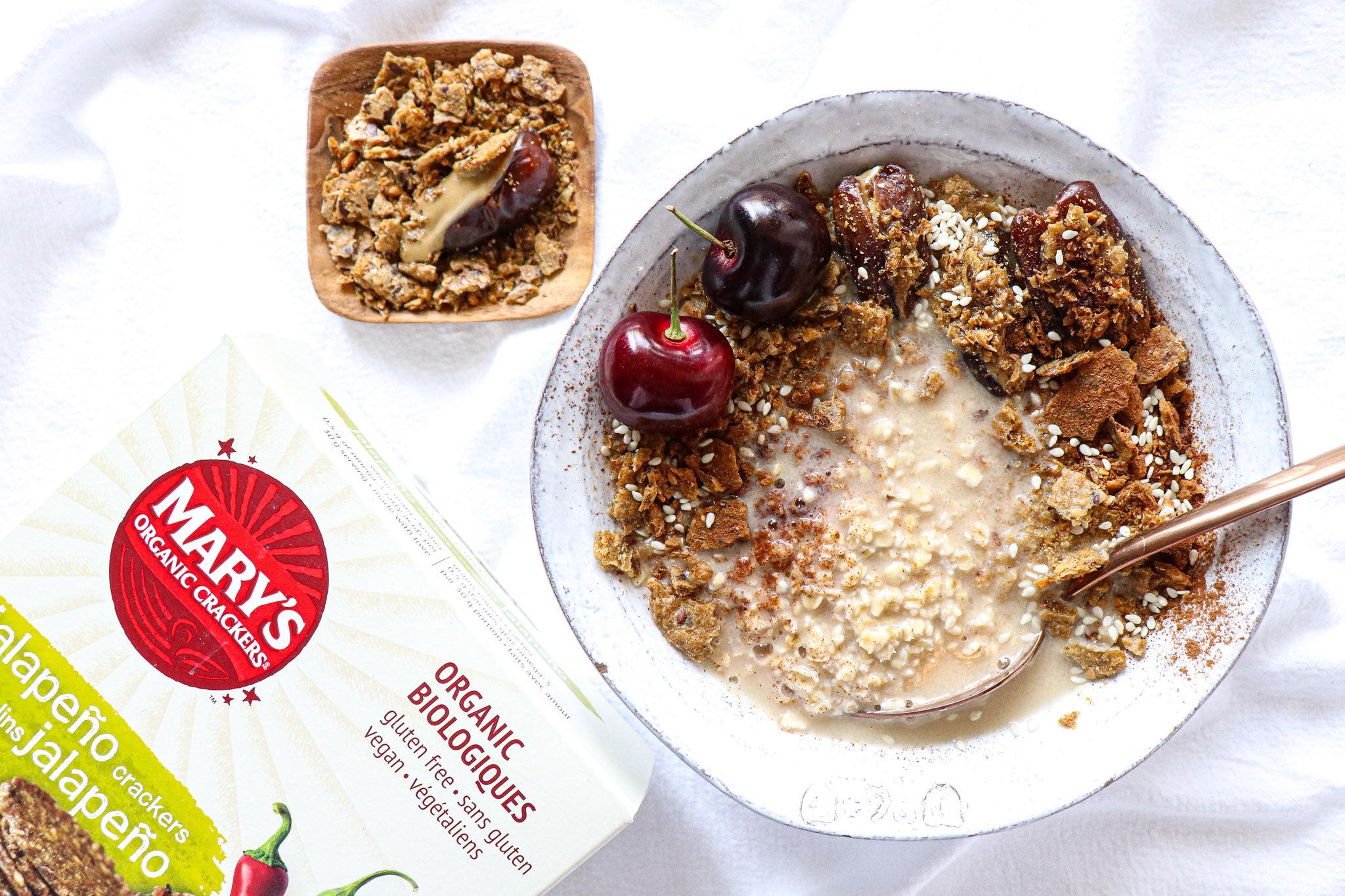 Marys Gone Crackers - Stuffed Dates and Crackermeal Oatmeal-3.jpg