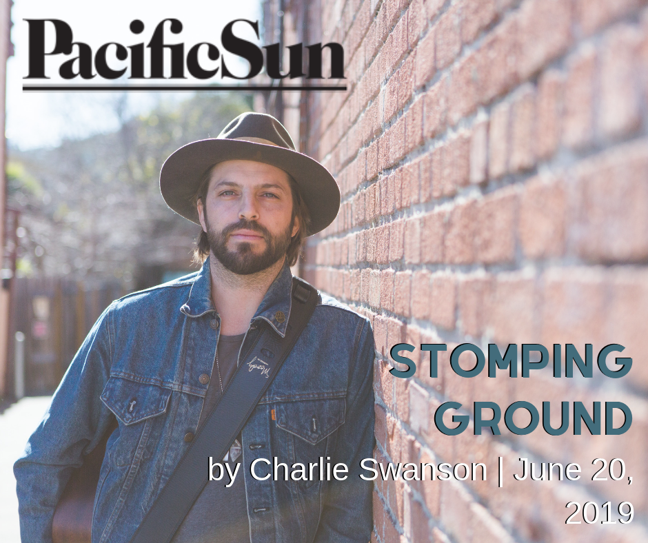 """STOMPING GROUND    Marin native Jesse Ray Smith wears his heartland on his sleeve    """"Possessing a sandy, plaintive voice akin to Bob Seger and leading a full band, Smith's sound bleeds through generations of Americana, feeling at once classic and contemporary in its melodies and arrangements."""" ~ Charlie Swanson   Pacific Sun   June 20, 2019"""