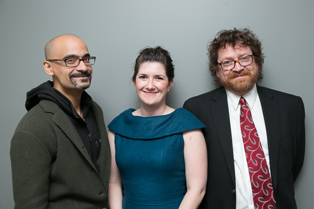 Junot Diaz, Claire Vaye Watkins, and Dan Chaon. (Event photos by Beowulf Sheehan.)
