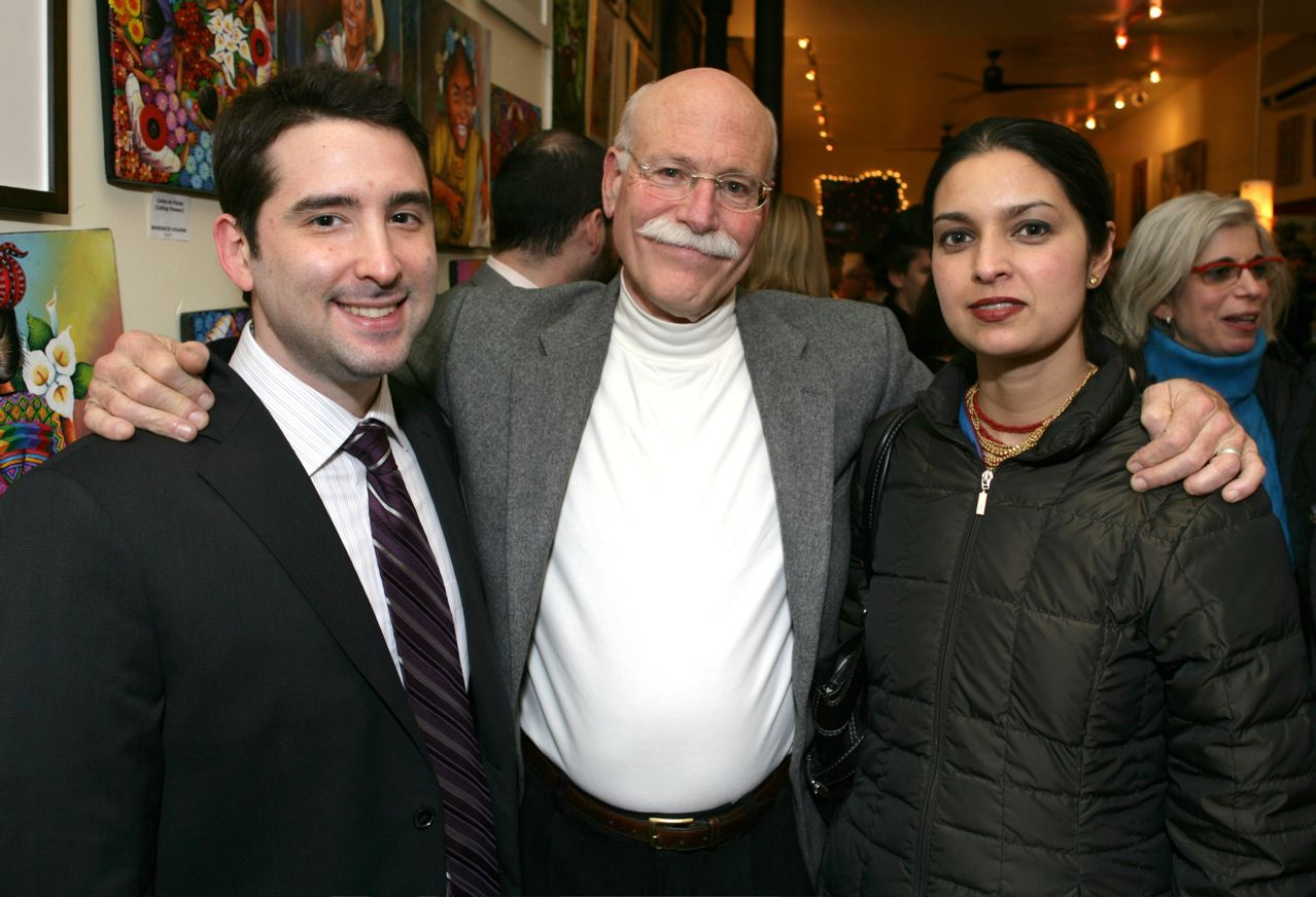 Joe Meno, Tobais Wolff, and Jhumpa Lahiri. (Event photos by Eric Andrew.)