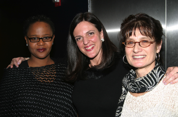 Edwidge Danticat, Cathy Day, and Joan Silber. (Event photos by Mercedes McAndrew.)
