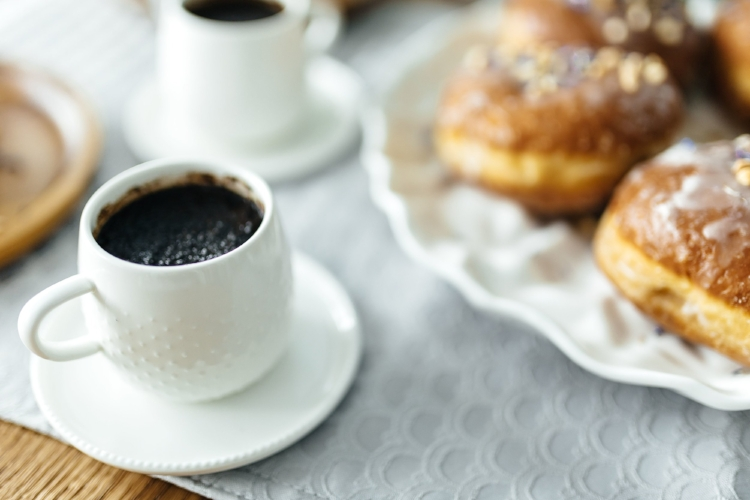 kaboompics_A cup of Coffee with Homemade Donuts.jpg