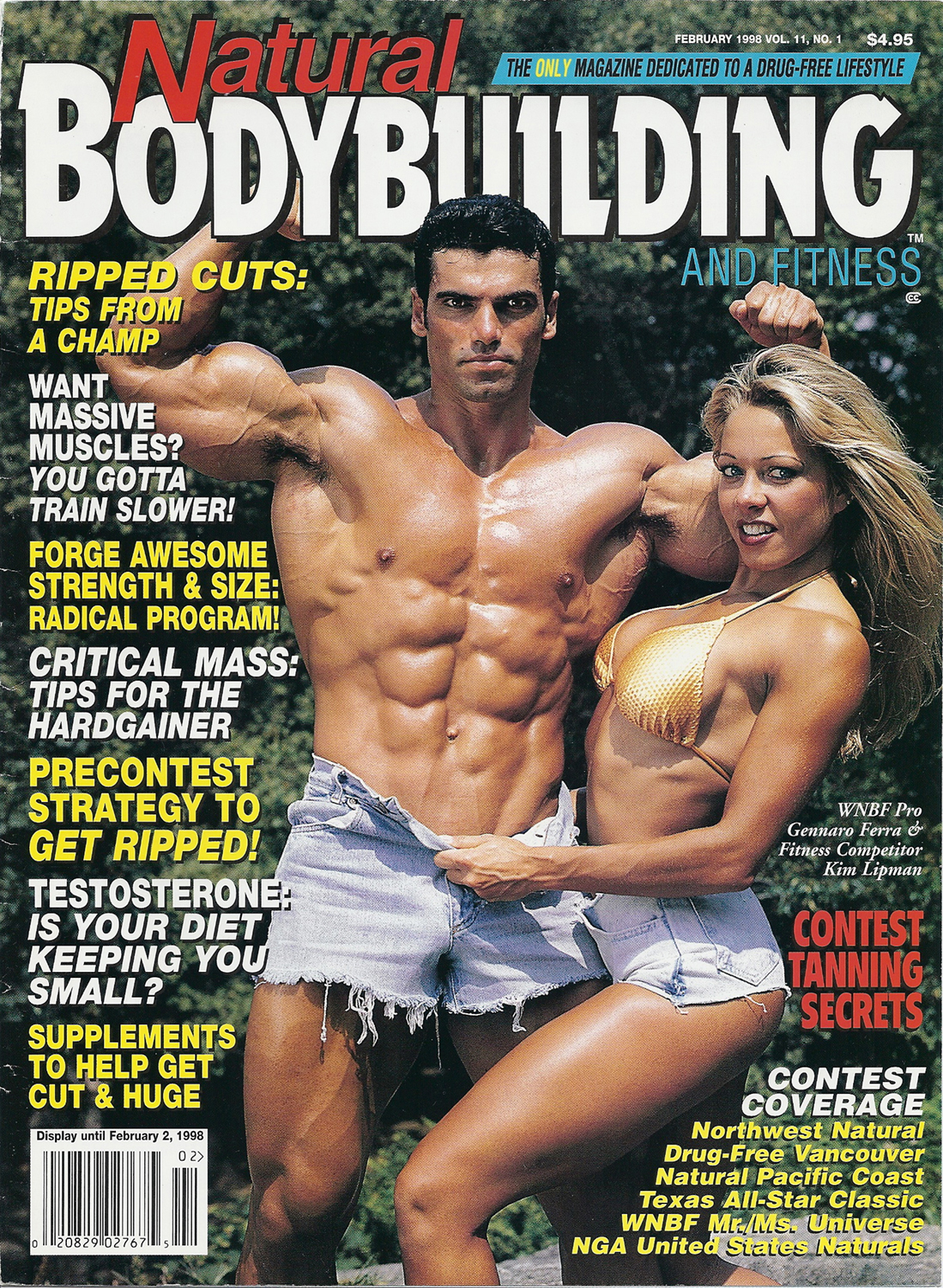 Natural Bodybuilding , Fitness cover